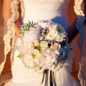 Bouquet | Outdoor Vintage Wedding by Drew Brashler Photography