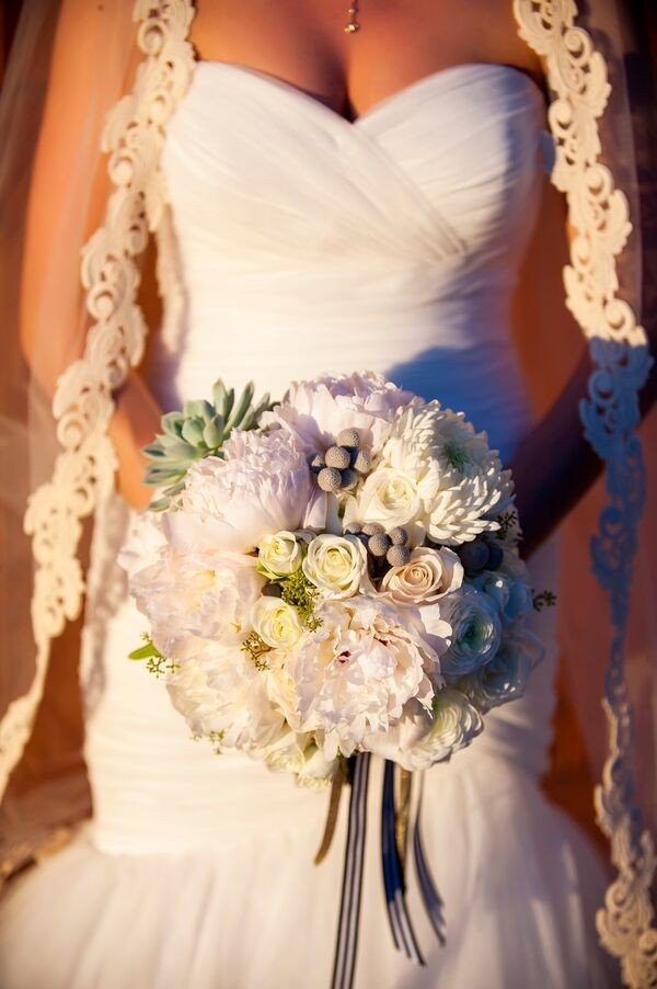 Bouquet | Outdoor Vintage Wedding by Drew Brashler Photography
