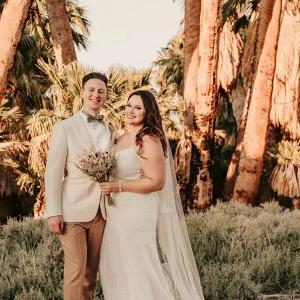 Fun California elopement