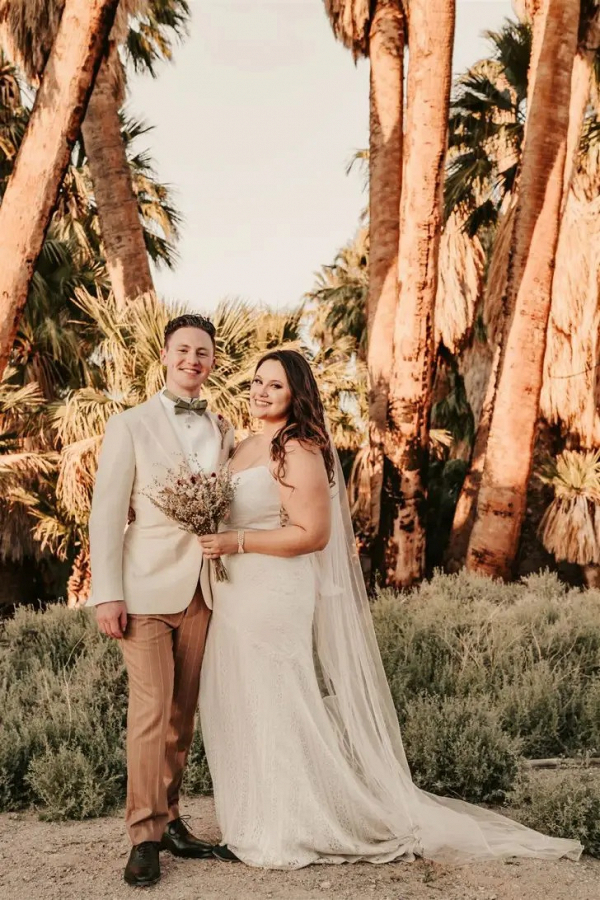 Fun California elopement