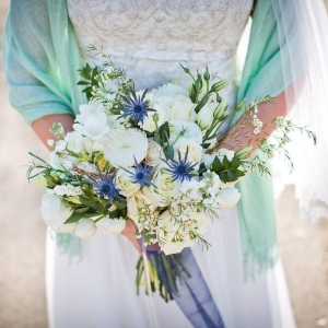 Wedding Bouquet | Pie Themed Wedding | Photo by Eric Vest Photography