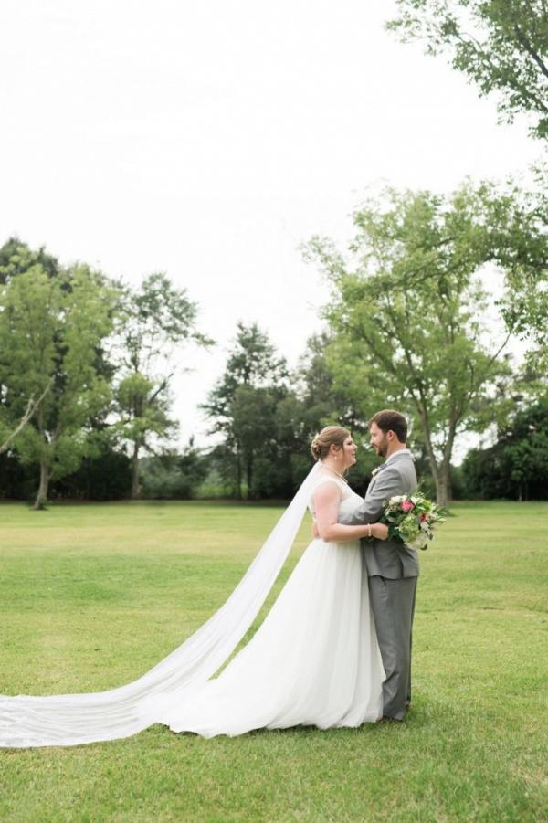 Alabama budget backyard wedding
