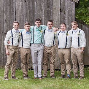 Dapper Groom and Groomsmen | Charlie Juliet Photography
