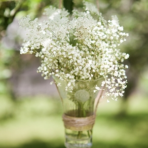 Baby's Breath Flower Arrangements | Charlie Juliet Photography