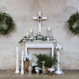 Wedding Altar | Photo by Chelsey Williams Photography