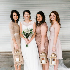 Bridesmaid lanterns