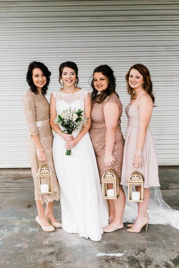Bridesmaid lanterns