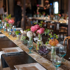 Barn wedding reception on The Budget Savvy Bride
