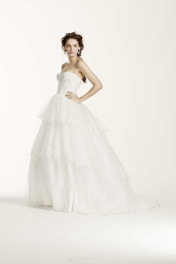 Wedding Dress from David's Bridal
