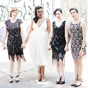 5c79b4bd0c5 Embellished Bridesmaid Dresses - Aisle Society
