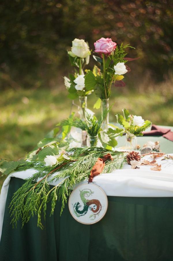 Intimate Italian wedding