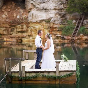 Waterside wedding