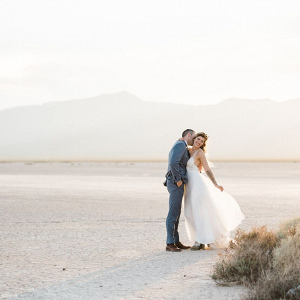 Desert Bride and Groom Portraits