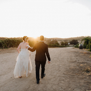 Gorgeous Winery Wedding Photo