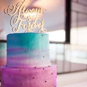 beach+wedding+cake