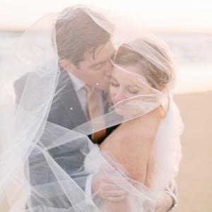 Wedding Photography - Veil Shot