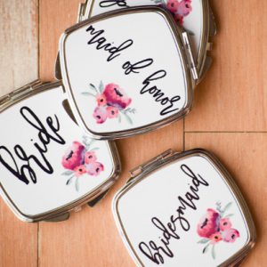 Bridal Party Gift Idea | Compact Mirror