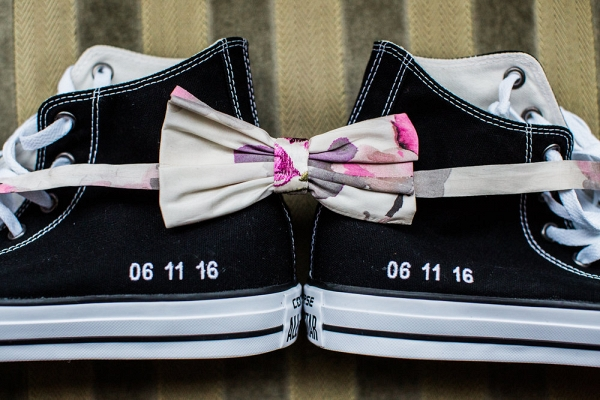 Groom Shoes + Bow Tie