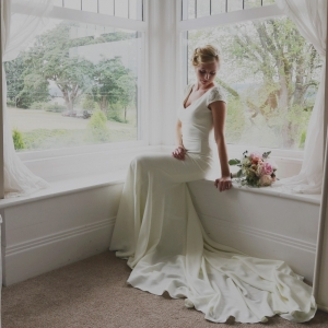 Marilyn+Monroe-Inspired+Wedding+dress