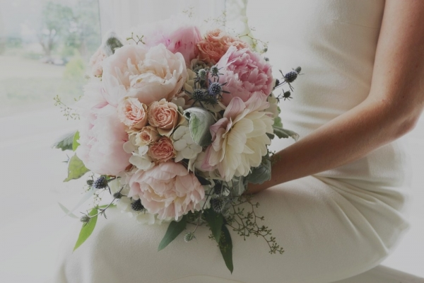 Marilyn+Monroe-Inspired+Wedding+bouquet