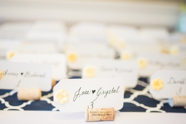 soft+yellow+wine+cork+wedding+seating+cards+_+traditional+persian+wedding+ceremony