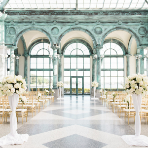 Gorgeous Museum Wedding Ceremony