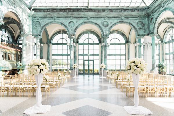 Gorgeous Museum Wedding Ceremony