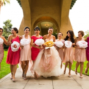 Pasadena+Wedding+at+Castle+Green+_+Bridal+Party