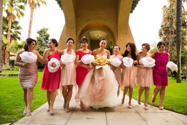 Pasadena+Wedding+at+Castle+Green+_+Bridal+Party