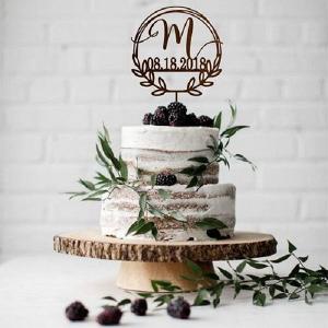 Laser Cut Wedding Cake Topper