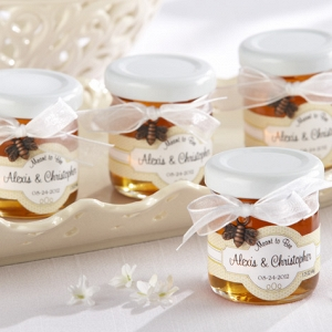 Jar of Honey Wedding Favors