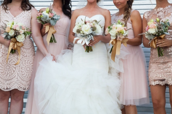 vintage+inspired+wedding+bridesmaids