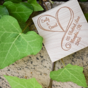 Wedding Invitation Address Stamps
