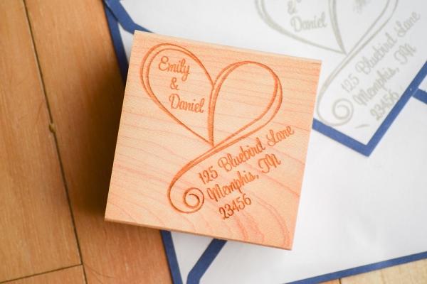 Wedding Invitation Return Address Stamps