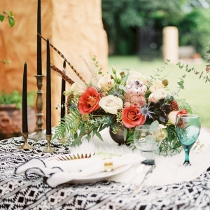 Aztec Inspired Wedding Ideas with Bold Colors