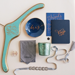 Wedding Details Curated by Color with BHLDN