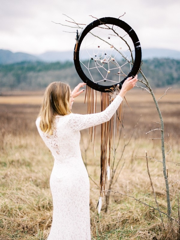 Bohemian Bridals in the Smoky Mountains, photography by Juicebeats Photography