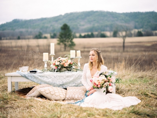 Bohemian Bridals in the Smoky Mountains