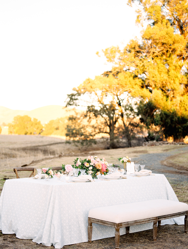 California Ranch Styled Shoot with Fall Foliage