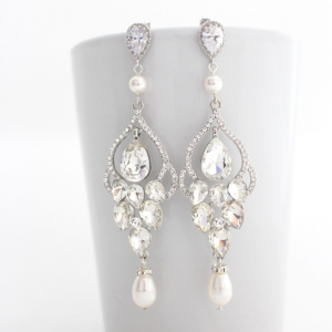 Sparkly Chandelier Earrings