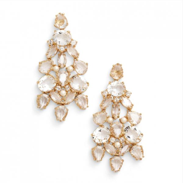 'Chantilly Gems' Chandelier Earrings  by kate spade new york