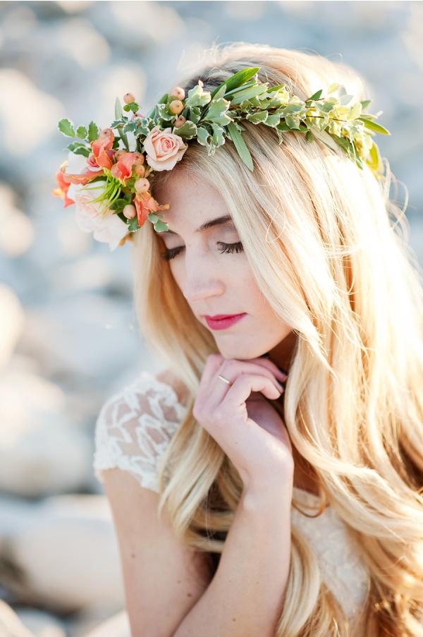 A Color Story | Romantic Peach Wedding