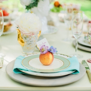 A Colorful Bridal Brunch in Charleston, SC