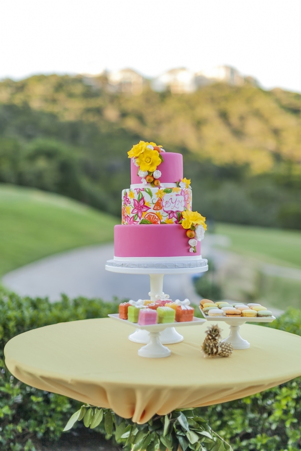 A Colorful and Preppy Lilly Pulitzer Inspired Cake