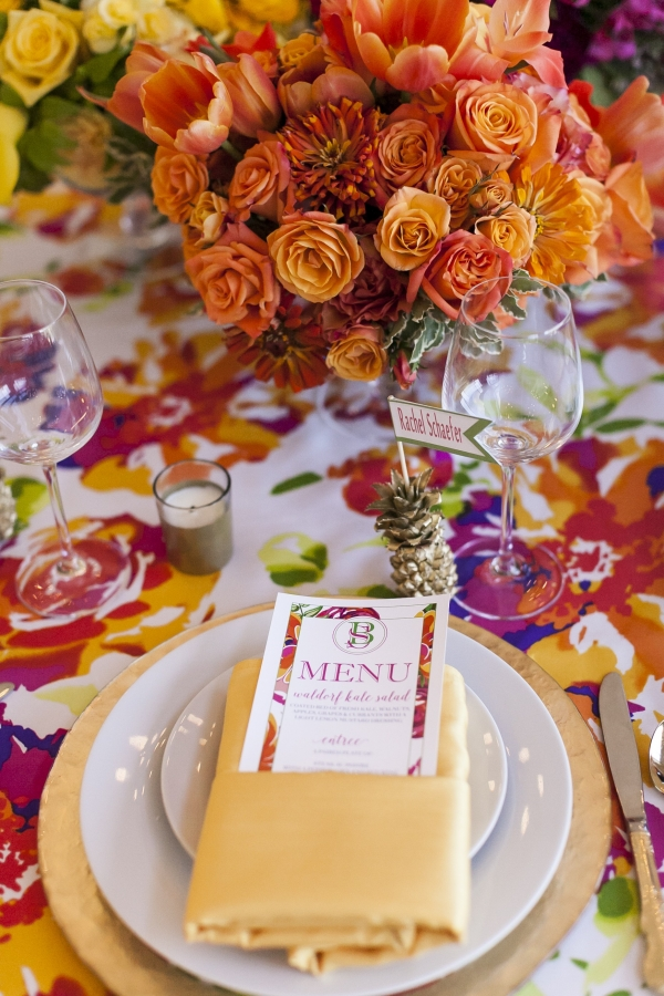 A Colorful and Preppy Lilly Pulitzer Inspired Fête