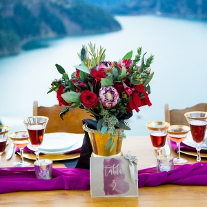 Gorgeous centerpiece design