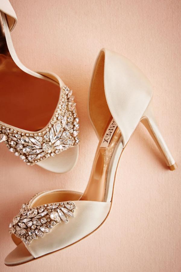 Crystal Adorned Heels by Badgley Mischka