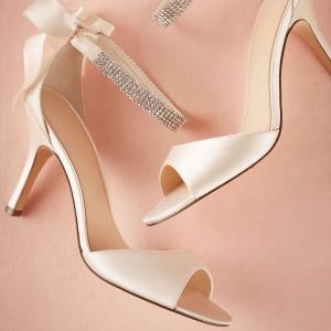 Crystal Bow Heels