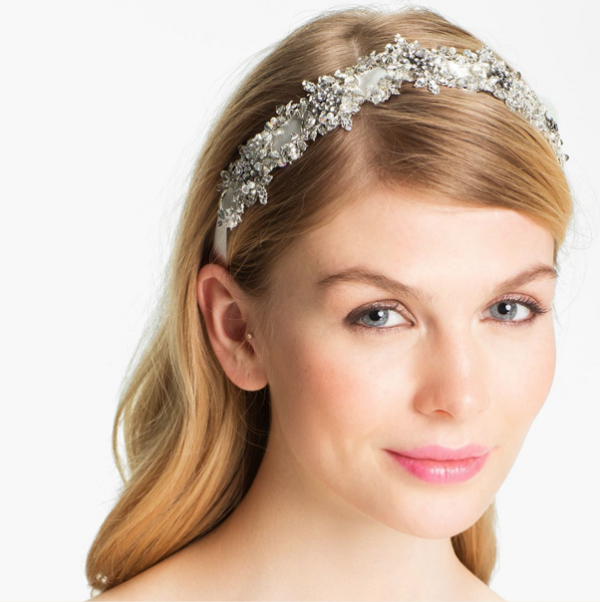 Crystal Embellished Bridal Head Piece