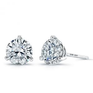 Diamond Stud Earrings from Bon Levy